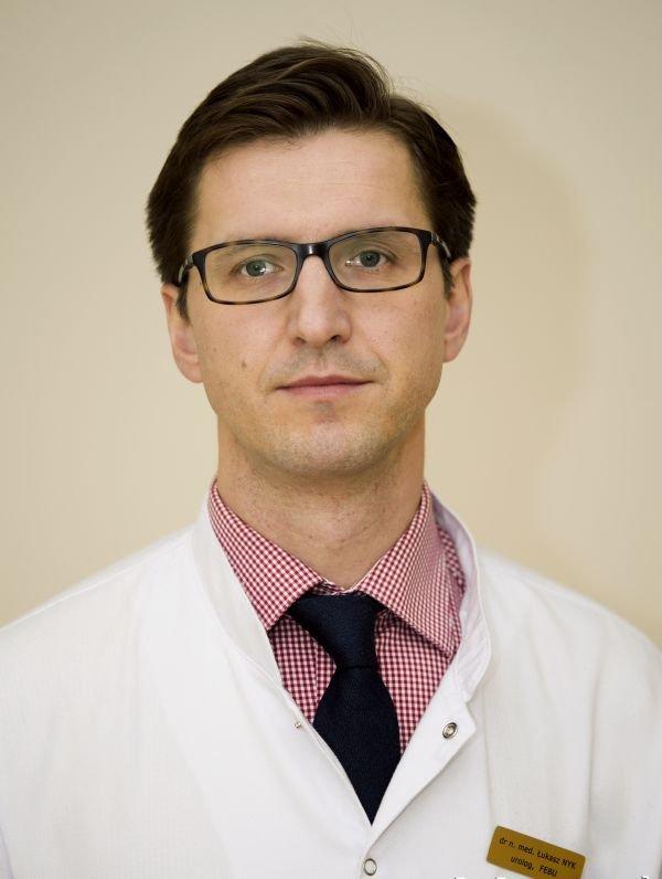 dr Łukasz Nyk, urolog