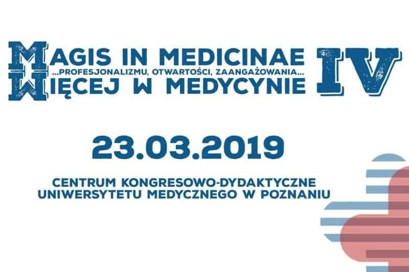 Konferencja Magis in Medicinae 2019