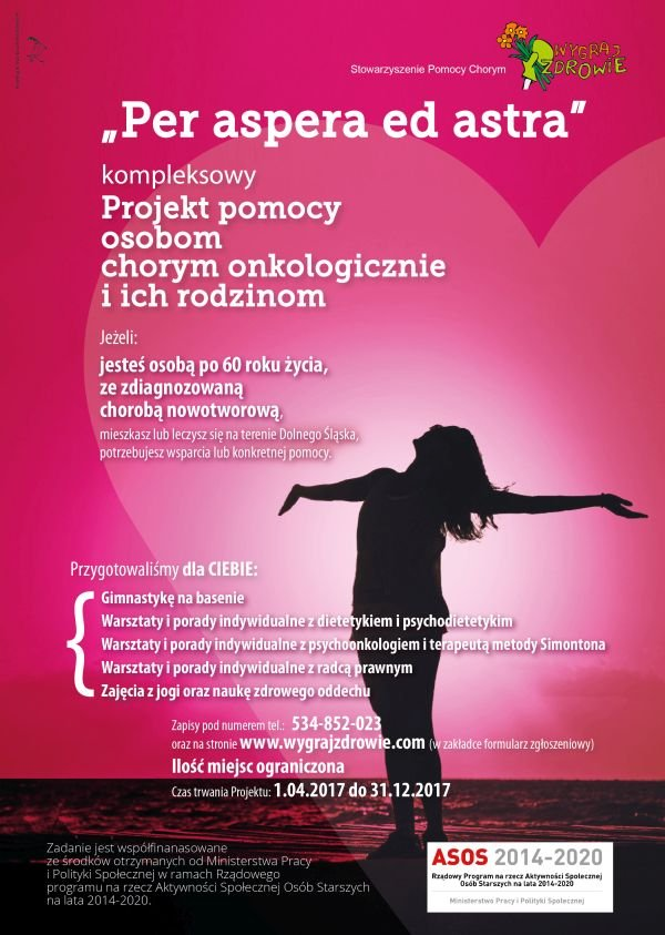 Per aspera ad astra - projekt dla pacjentów onkologicznych