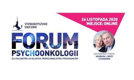 Forum Psychoonkologii 2020 – zaproszenie do udziału
