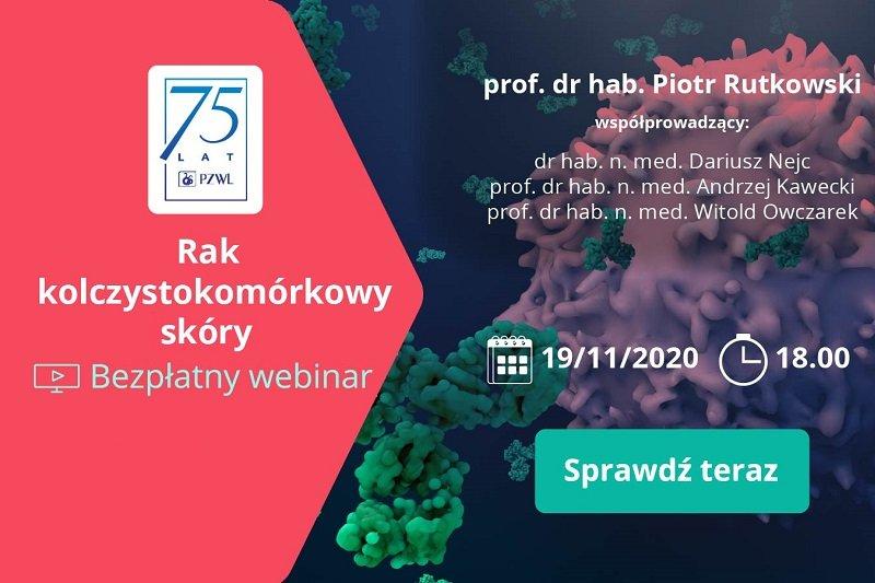 Webinar PZWL: rak kolczystokomórkowy skóry
