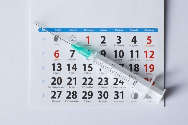 Kalendarz i harmonogram szczepień przeciw COVID-19