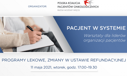 Webinar: Programy lekowe, zmiany w ustawie refundacyjnej